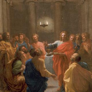 성찬식을 주최하는 예수 그리스도