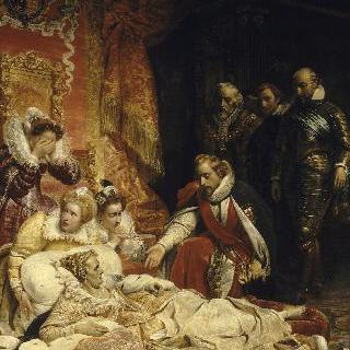 영국의 여왕 엘리자베스의 죽음, 1603년