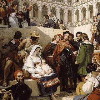 바티칸 성당의 라파엘