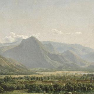 나폴리 왕국, 셀라노 호수가, 아베차노의 전경