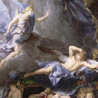 이리스가 다가오자 잠에서 깨는 모르페우스