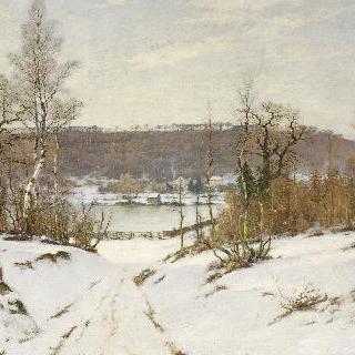 빌-다브레, 눈이 온 풍경