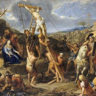 십자가에 못박힌 예수