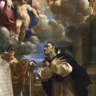 이야생트 앞에 나타난 성모와 아기예수