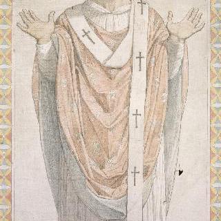 성 페르디낭 성당 스테인드글라스의 밑그림 : 알렉상드리아의 성 클레멘스