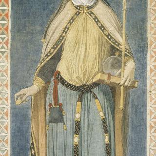 성 페르디낭 성당 스테인드글라스의 밑그림 : 독일의 황후 성녀 아델라이드