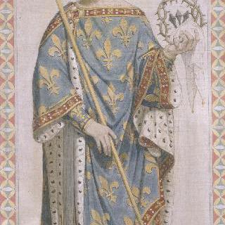 성 페르디낭 성당 스테인드글라스 : 프랑스왕 성 루이