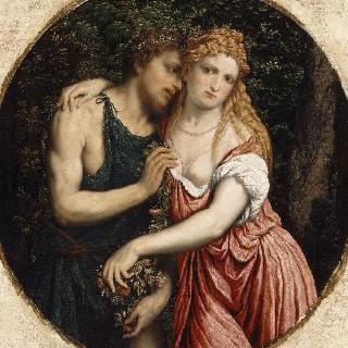 연인의 신화적인 표현 (다프니스와 클로에)