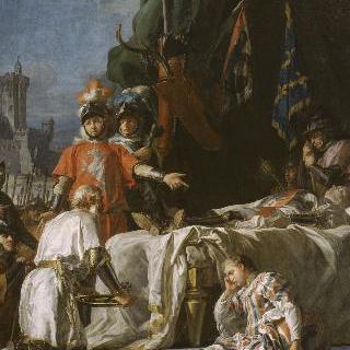 샤토뇌프 드 랑동 앞에서의 뒤 게슬랭의 죽음