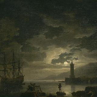 바다, 청명한 달빛