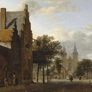 잔텐의 생-빅토르 교회와 광장 (독일)
