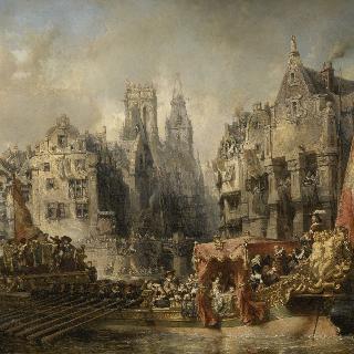 1567년경 로테르담에 도착한 알브 공작