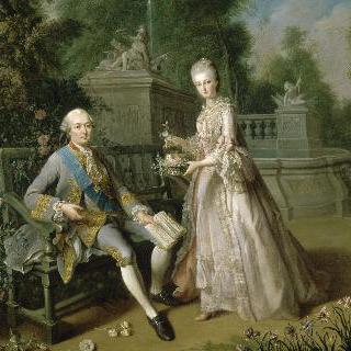 루이 장 마리 드 부르봉, 팡티에브르 공작과 그의 딸, 루이즈 아델라이드