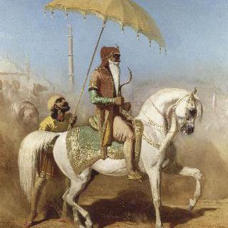 라호르의 왕 란디지트 싱 바두르