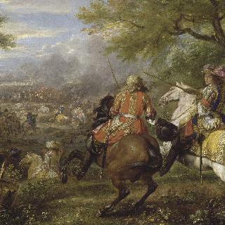 브뤼그 운하 근처에서 전투에 패배한 에스파냐 군대