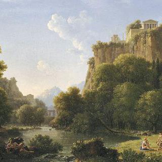 프시케와 목신, 역사적 풍경