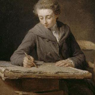 어린 화가 : 14살 무렵의 화가 카를 베르네