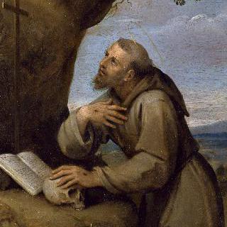 십자가 앞에서 기도하는 성 프란체스코 다시즈
