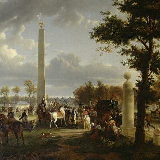퐁텐블로 숲에서 나폴레옹 1세와 교황 비오 7세의 만남