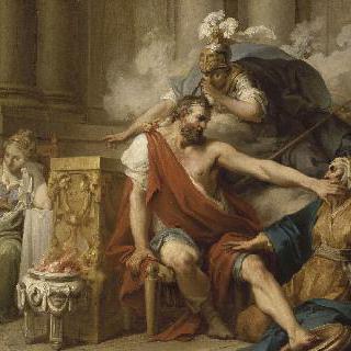 유리클레에 의해서 발견된 오디세우스