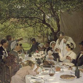 이포르에서의 결혼식 만찬