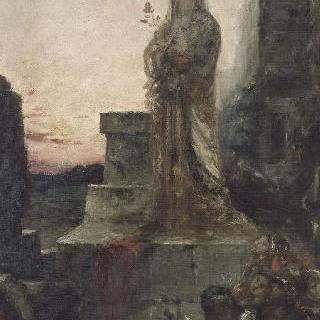 트로이 성벽 위의 헬레나