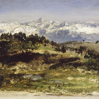 피레네 산맥 - 습작