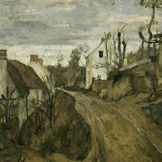 오베르의 시골길