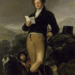 돈 프란시스코 데 보르자 텔레즈 지론의 초상, 오수나의 10번째 공작