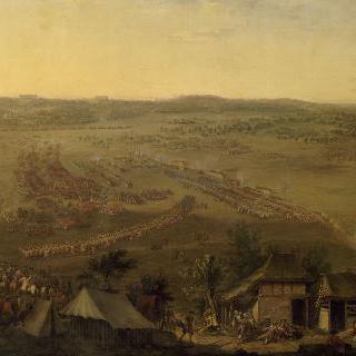 1745년 5월 11일, 퐁트노이 전쟁의 전경