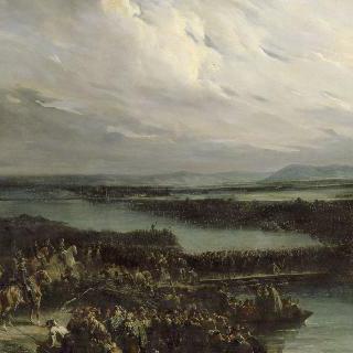 라인강을 건너는 프랑스 군대
