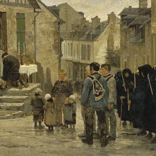 칼바도스, 선원의 장례식