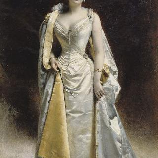 알베르 카엥 당베르 부인의 초상