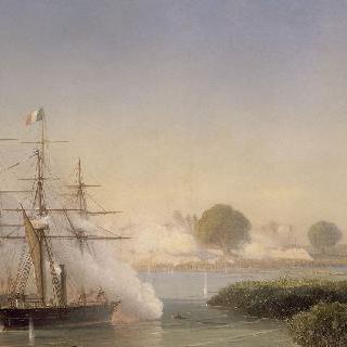 1859년 코친차이나의 파견에 관한 에피소드