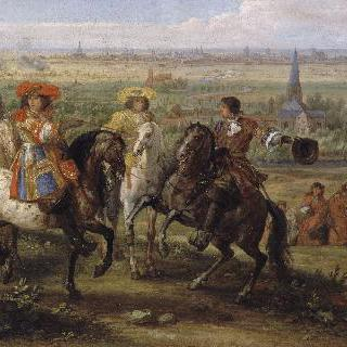1667년 8월 릴을 점령한 루이 14세