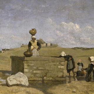 우물가의 브르타뉴 여인들,부르그드 바츠 (루아르-아틀란티크)