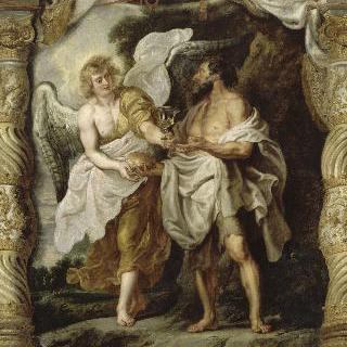 예언자 엘리야와 천사