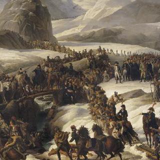 1800년 5월 20일 프랑스 군대의 그랑 생-베르나 횡단