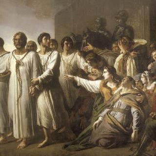 1342년 칼레 여섯 시민의 애국적 희생