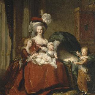 마리 앙투아네트와 아이들