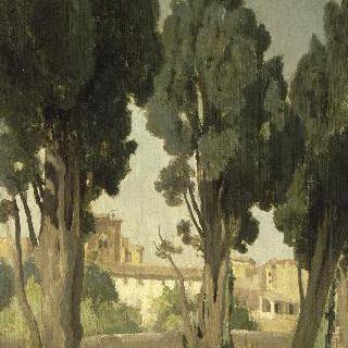 빌뇌브-레-아비뇽. 구제원 정원 테라스