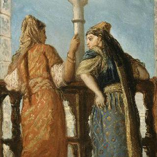 발코니의 유태인들, 알제리