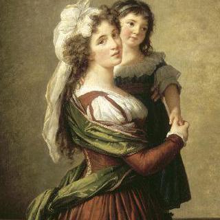 루소 부인과 그녀의 딸