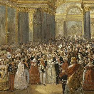 바타이유 갤러리의 개장식, 1837년 6월 10일