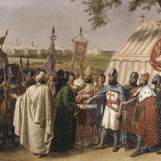 티르의 항복을 받아낸 트리폴리 백작