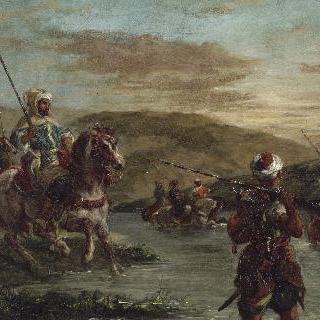 모로코 강 건너기