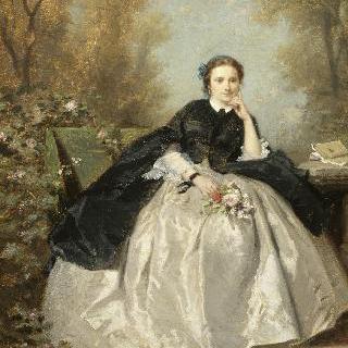 공원의 젊은 여인의 초상