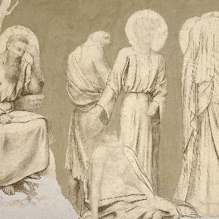팡테옹을 위한 장식화 : 성자들