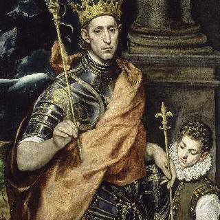 성 루이, 프랑스 왕과 그의 시동