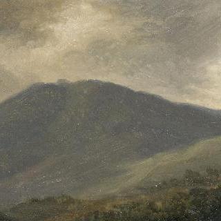 네미 부근의 카보 산